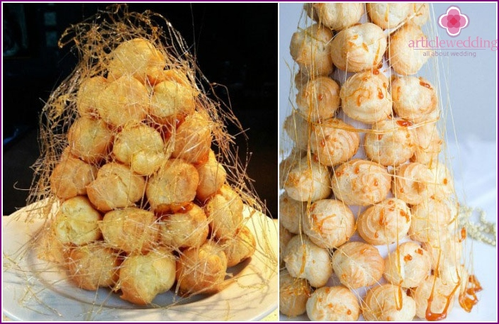Croquembouche - French wedding cake