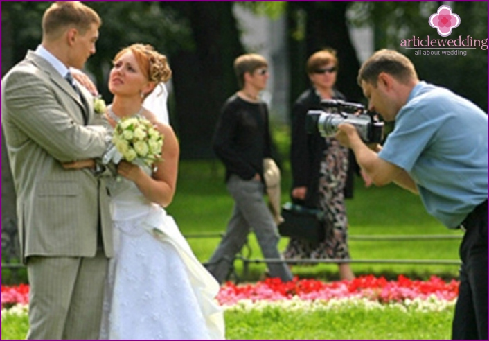 Choosing a professional wedding shooting