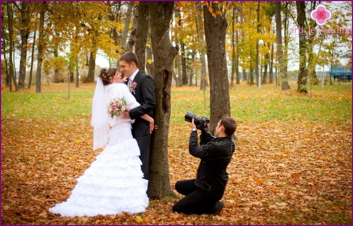 Experience in the wedding videographer shooting