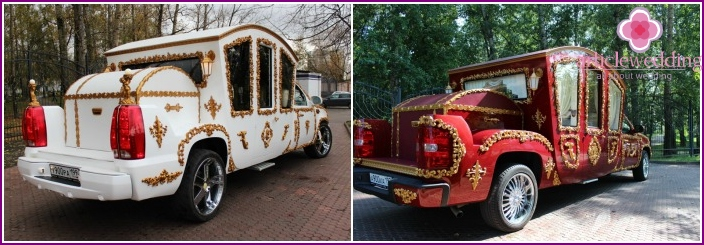 Wedding car-coach Cadillac