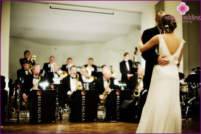 Wedding Dance to the music