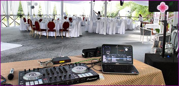 Musical accompaniment at the wedding