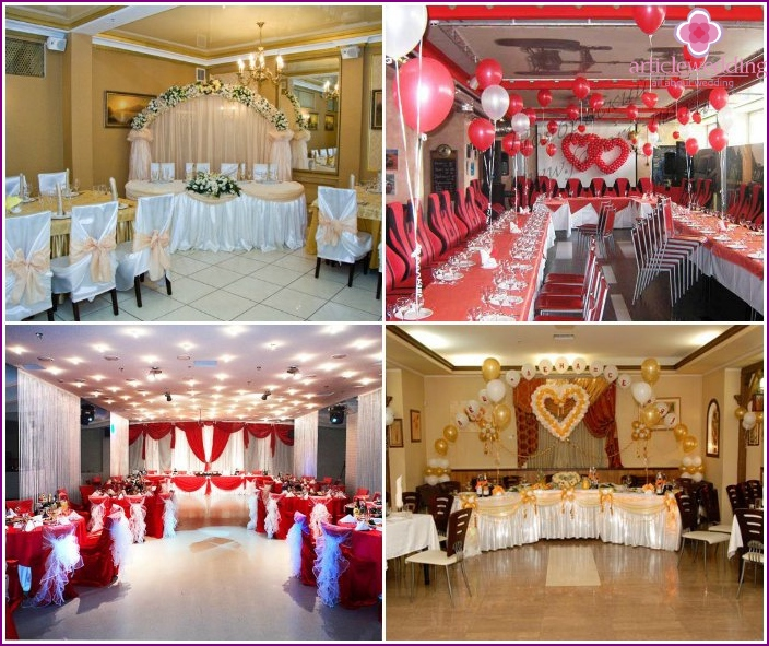 Decoration wedding hall