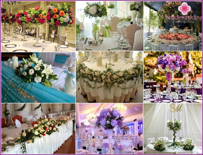 Florist Wedding Party