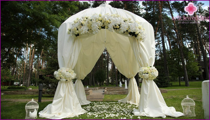 Beautiful rectangular arch