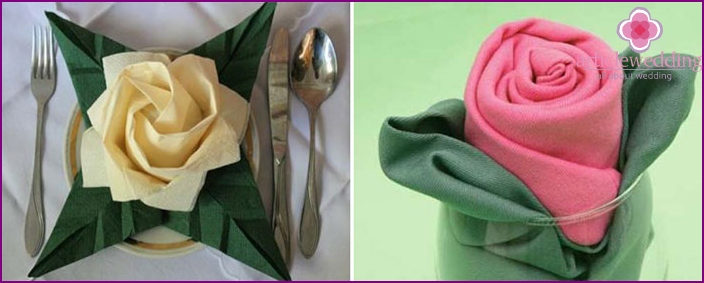 servietter foldning til bryllup