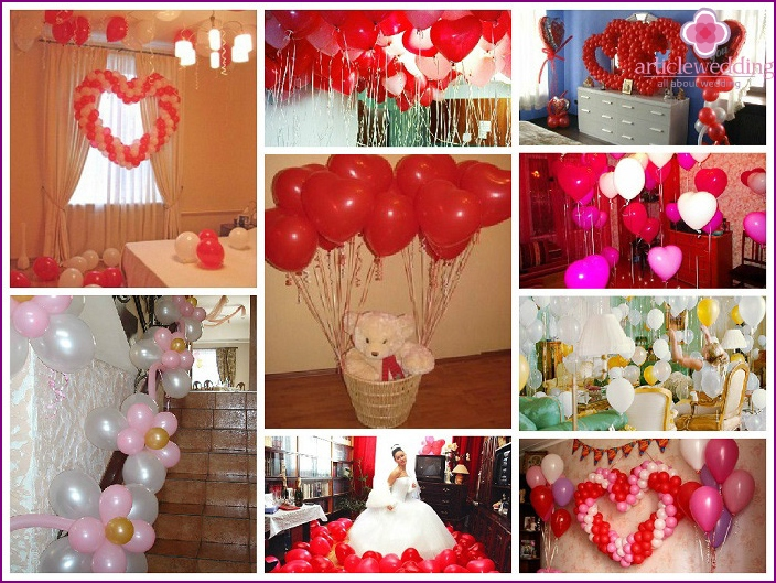 Making room bride balls