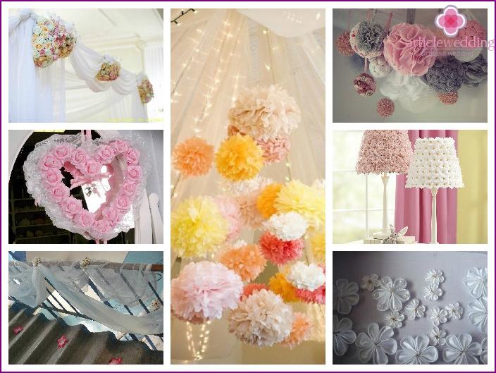 bride's room decor fabrics