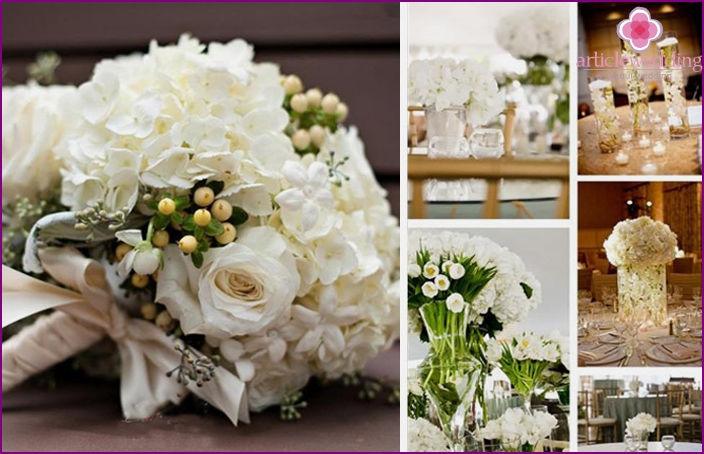 Ideas wedding decoration flowers