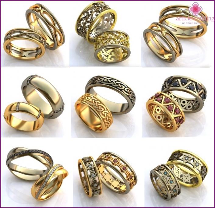 The most original wedding rings
