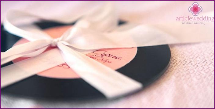Wedding voice mail