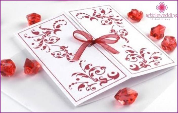 As in verses invite Grandma to a wedding