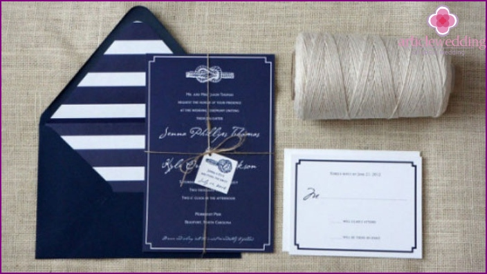 Intriguing sea coloring invitations
