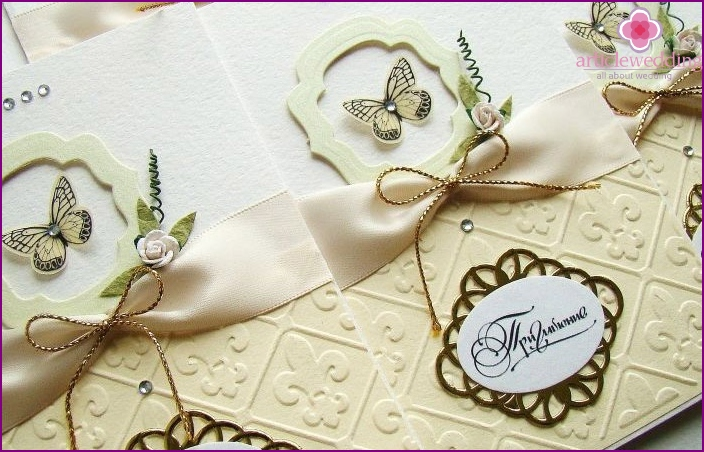 Homemade invitations layouts