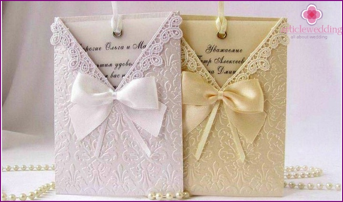 Original lace envelopes