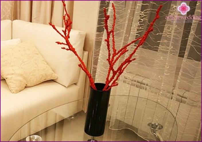 Decor twigs wedding wish tree for salt