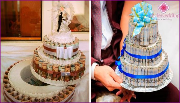 Cakes of bills