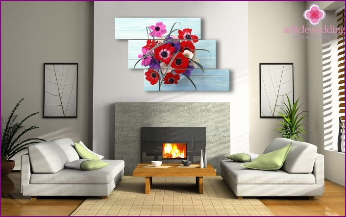 Gifts to young couples for interior decoration