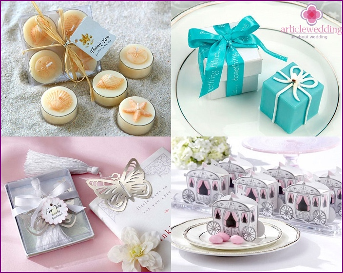 Ideas wedding gifts for guests
