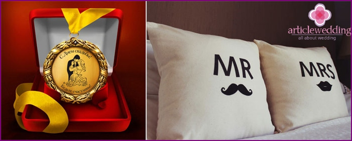 Humorous gifts for the wedding