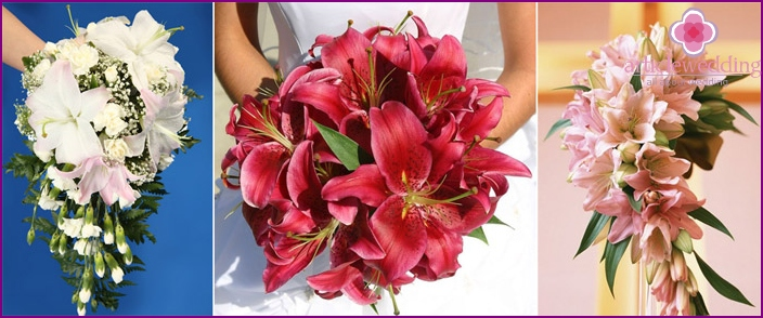 Lilies - Flowers for the newlyweds
