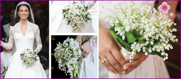 Lilies of the valley - the best flowers for wedding