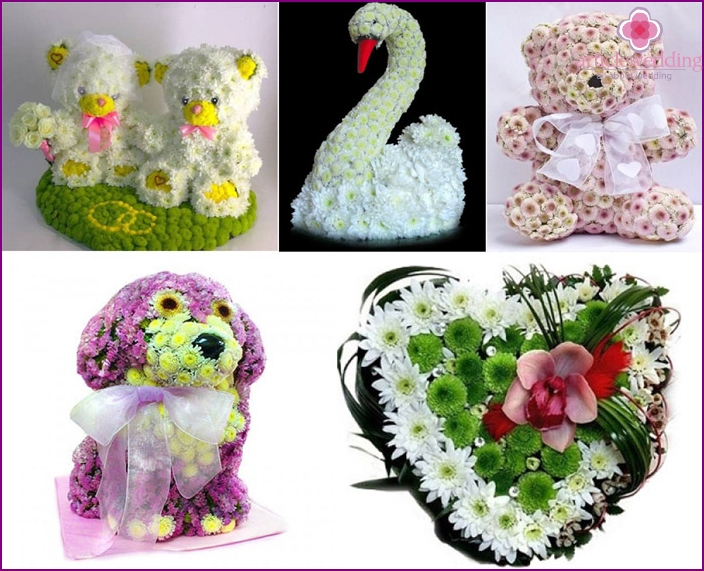 Flower toy as a gift to young