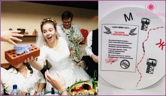 Funny funny gifts for the wedding