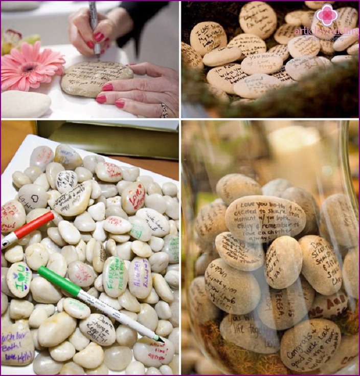 Alternatives to book a wedding wishes