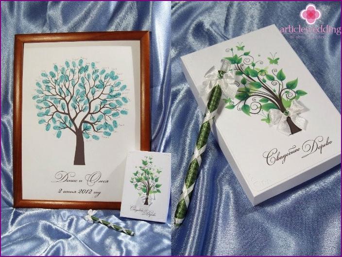 Paper Tree Wedding congratulations newlyweds