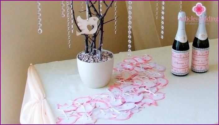 Дерево для свадьбы своими руками 18