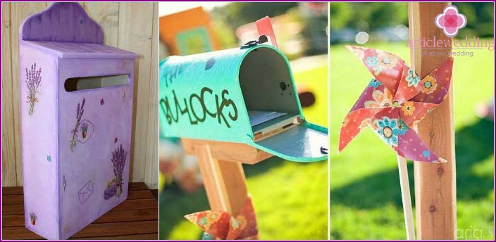 The original solution: a casket mailbox