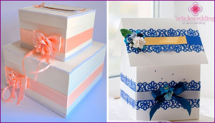 Possible wedding boxes