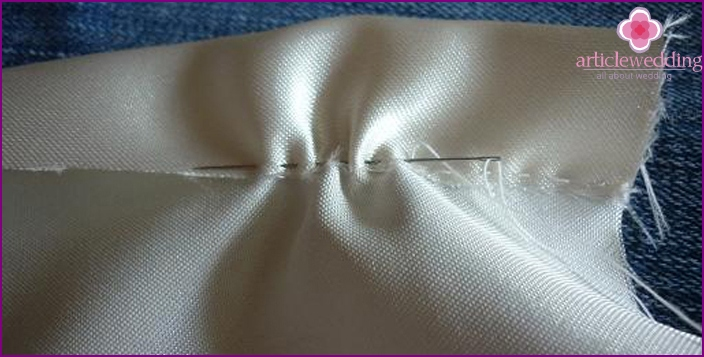 The incorporation of a hidden seam