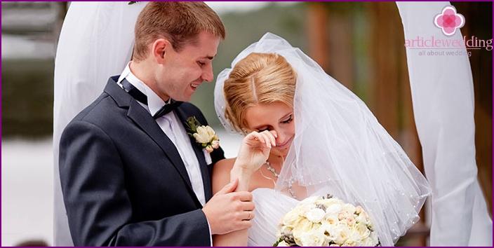 Weeping bride