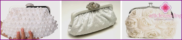 Wedding clutches, wallets