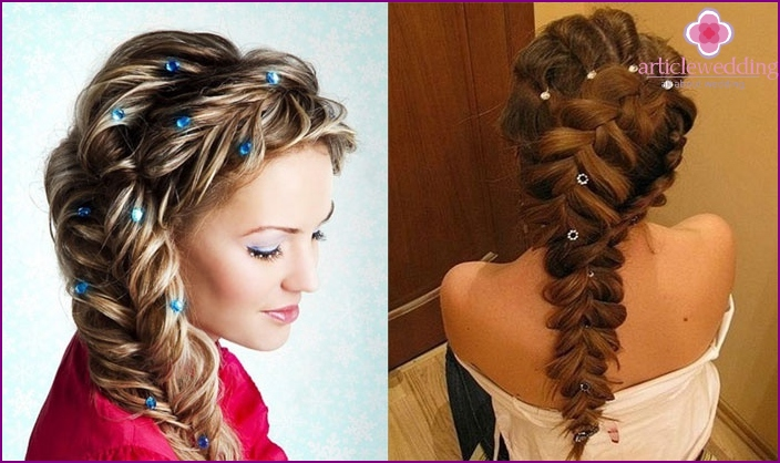 French braid - stacking option for witness