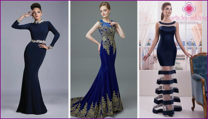 Styles of dresses for wedding witness