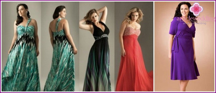 Evening dresses for full-witnesses girls