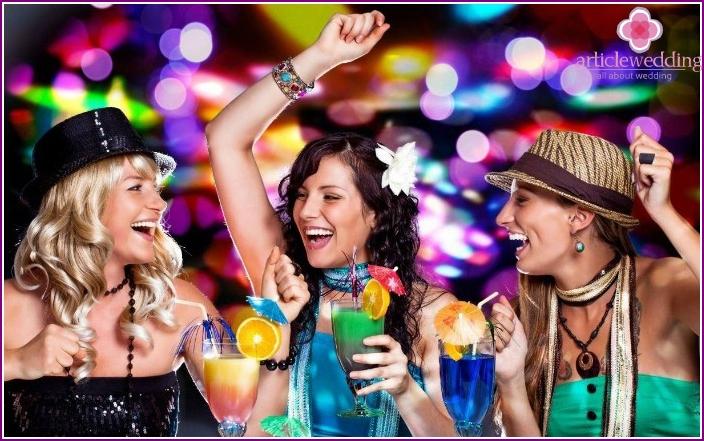 Bachelorette party, witness ogranizovanny