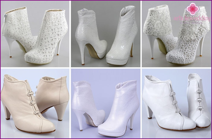 Elegant Ankle Boots for wedding