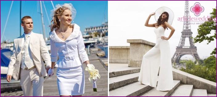 mimo najít nevěstu oblečení