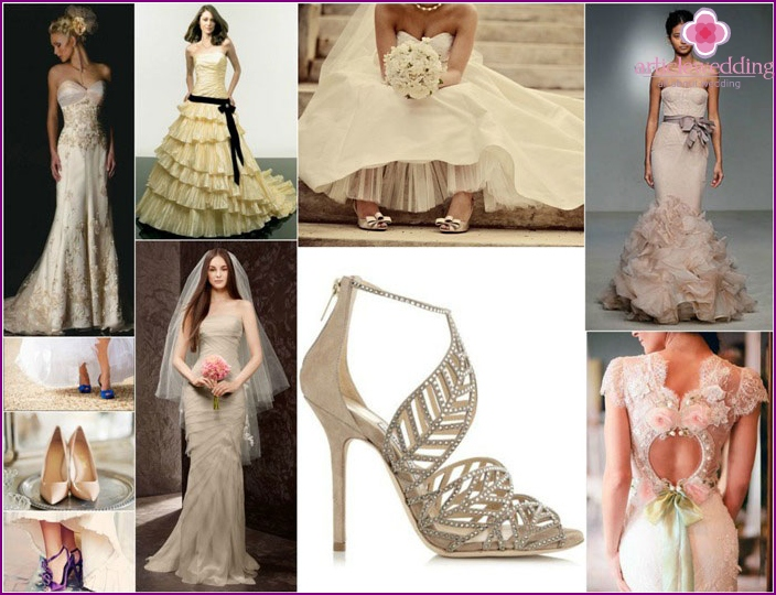 Accessories for the bride attire
