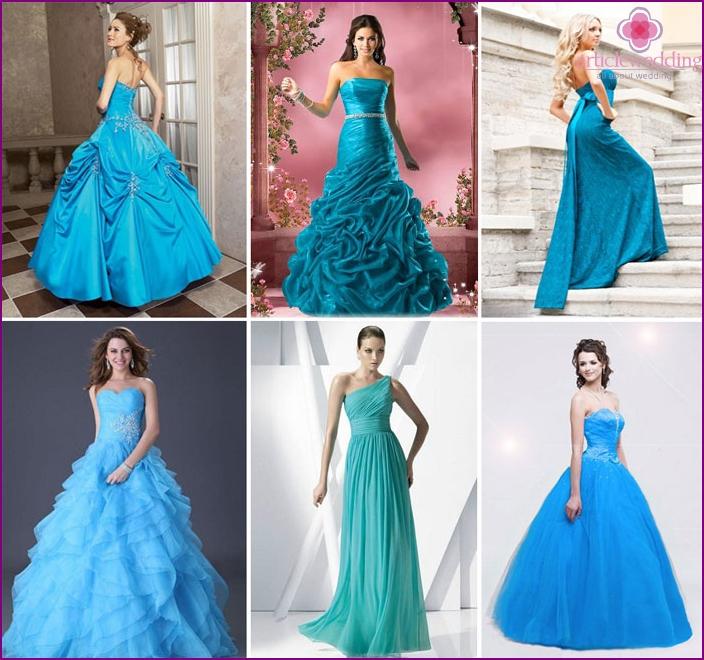 Models of wedding images aqua