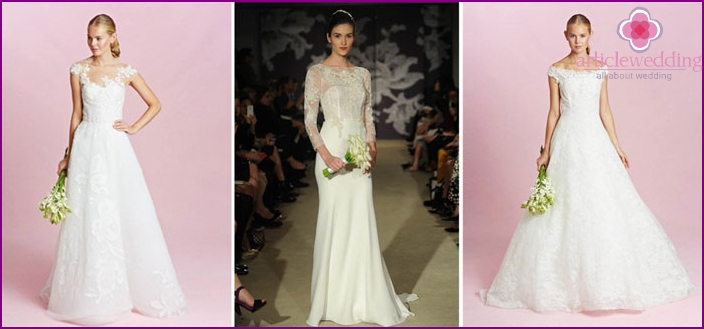 Openwork in wedding fashion 2016