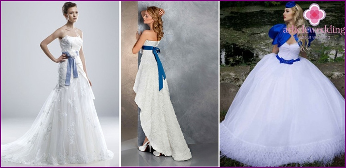 A variety of wedding styles