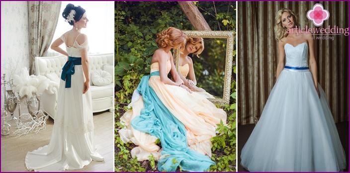 Fancy dress for brides