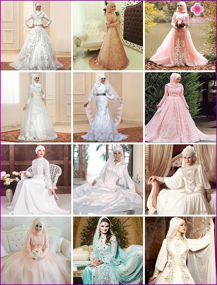 Arabische Brautkleider: Modelle und Stile im orientalischen Stil