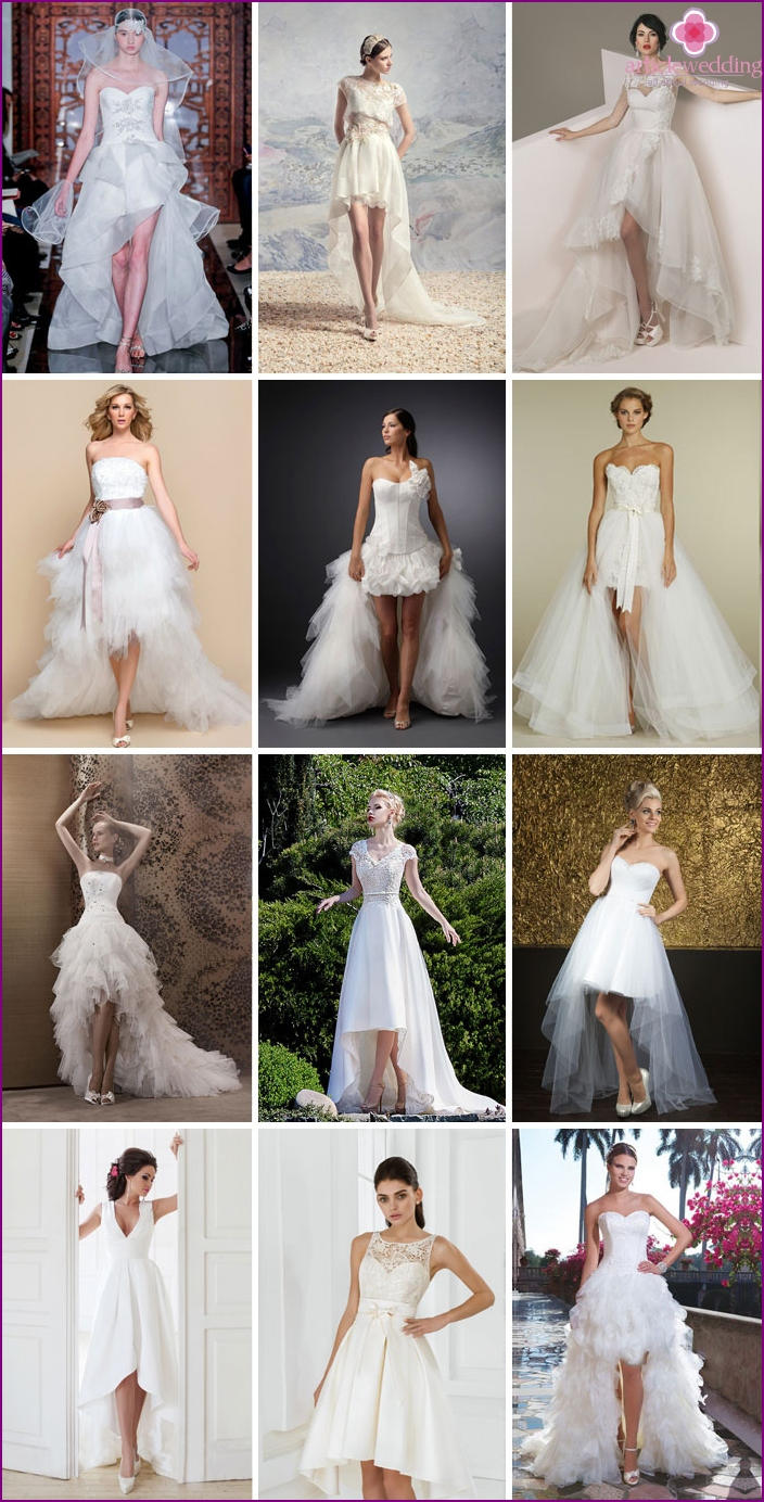 Wedding Dresses for different-length