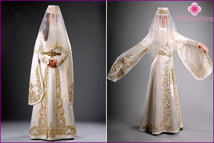Croy Ossetian wedding dress